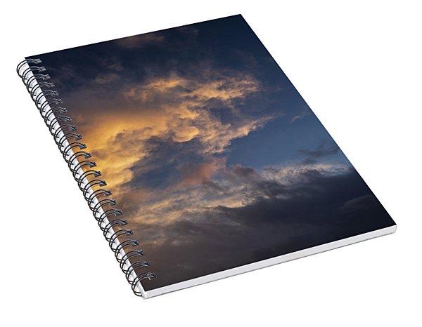 Fiery Wave Spiral Notebook