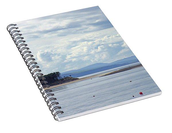 Findhorn Bay - Moray Firth Spiral Notebook
