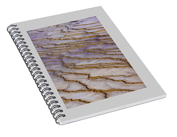 Fingerprint Of The Earth Spiral Notebook