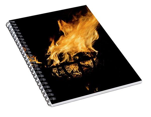 Fire Cressets Three Spiral Notebook