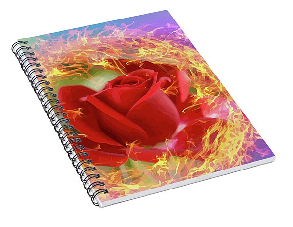 Fire Of Desire Spiral Notebook