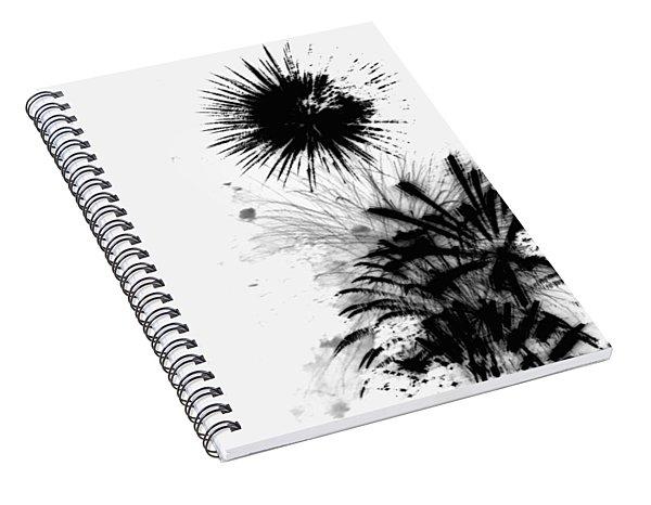 Firework Abstract 9 Spiral Notebook