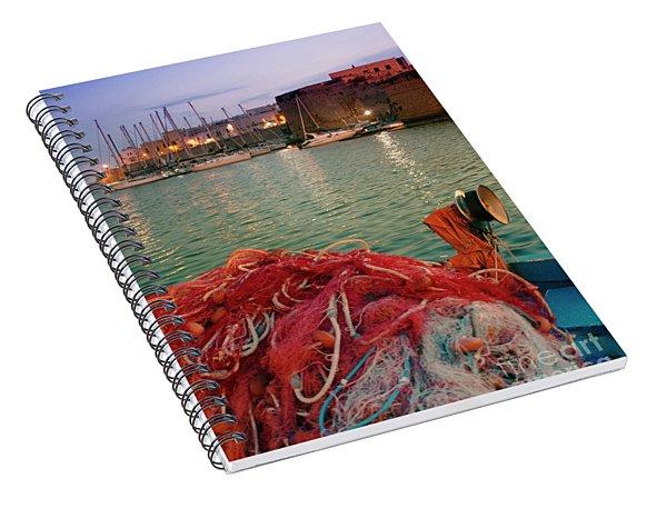 Fisherman's Net Spiral Notebook