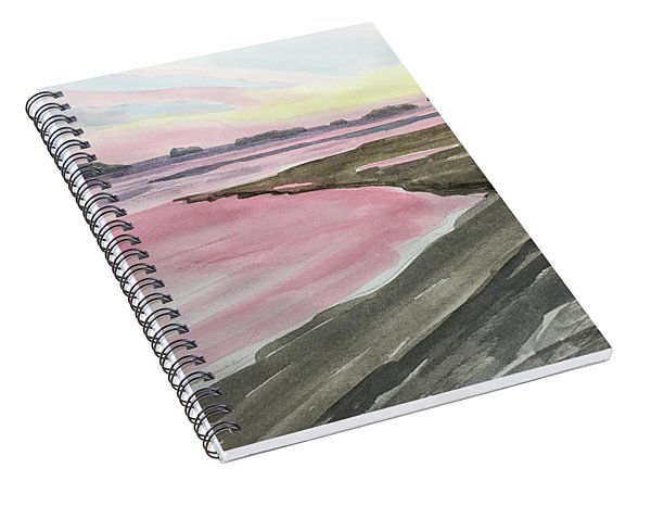 Five Islands - Watercolor Sketch  Spiral Notebook