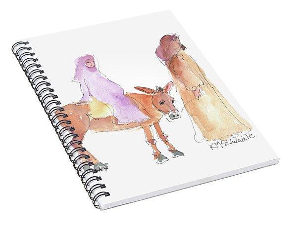 Road To Bethlehem 2017 Spiral Notebook
