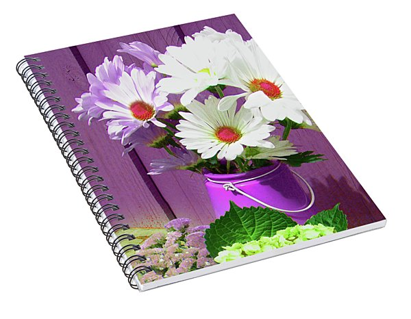 Floral Art 335 Spiral Notebook