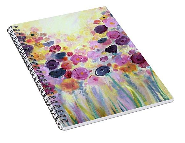 Floral Splendor IIi Spiral Notebook