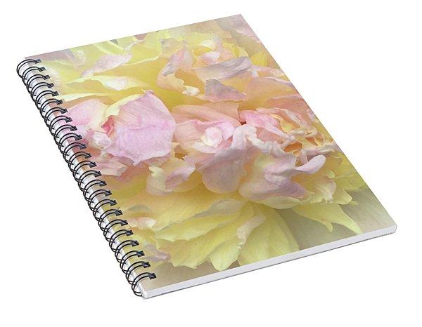 Floral Sunrise Spiral Notebook