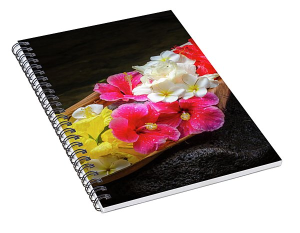 Flower Boat Spiral Notebook