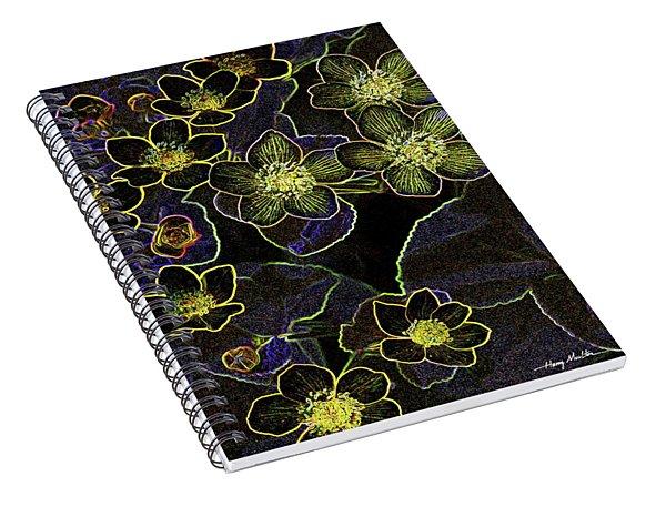 Flowers At Rest 2 Spiral Notebook