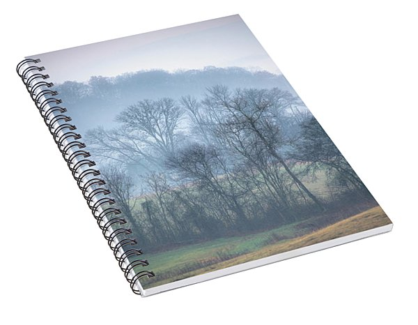 Foggy Hills Spiral Notebook