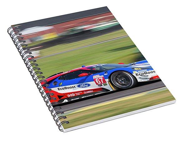 Ford Gt 67 Spiral Notebook