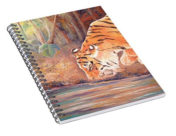 Forest Tiger Spiral Notebook