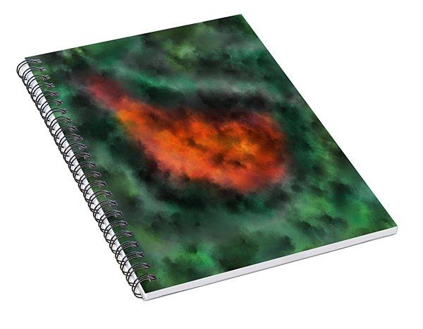 Forest Under Fire Spiral Notebook