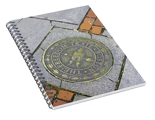 Freedom Trail Marker Spiral Notebook