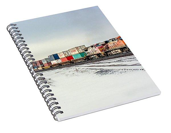 Freight Train Spiral Notebook