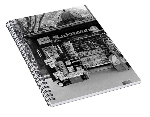 French Kiosk Spiral Notebook