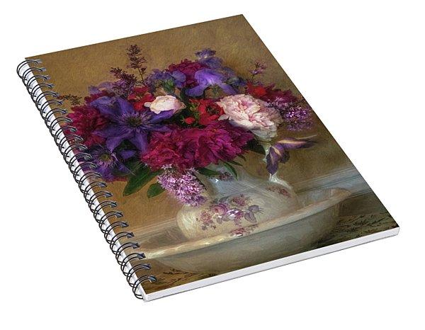 Fresh From The Garden Spiral Notebook