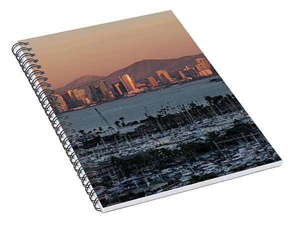 From Here To Downtown Spiral Notebook