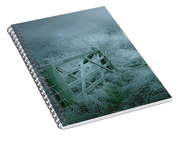 Frosty Night Spiral Notebook