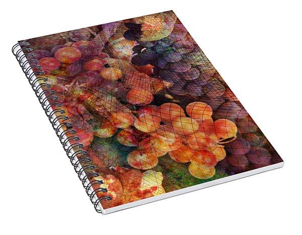 Fruit Of The Vine Spiral Notebook