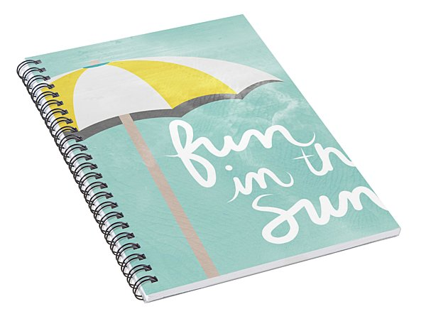 Fun In The Sun Spiral Notebook