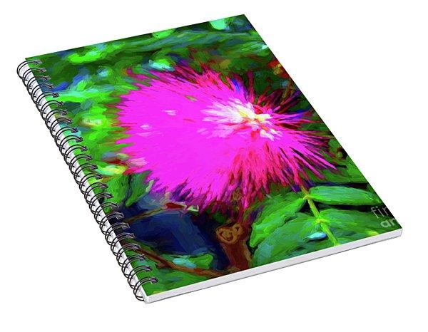 Fuzzy Exotic Spiral Notebook