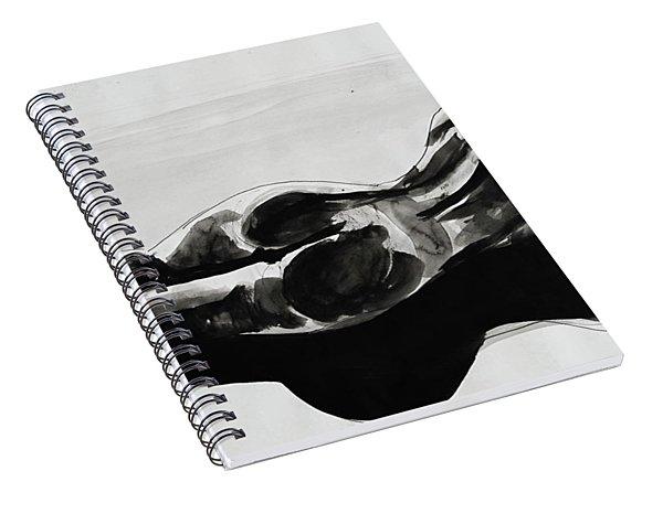 Gaia Consciousness Spiral Notebook