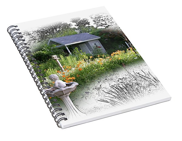 Garden House Spiral Notebook