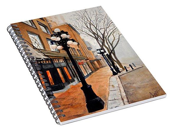 Gastown, Vancouver Spiral Notebook