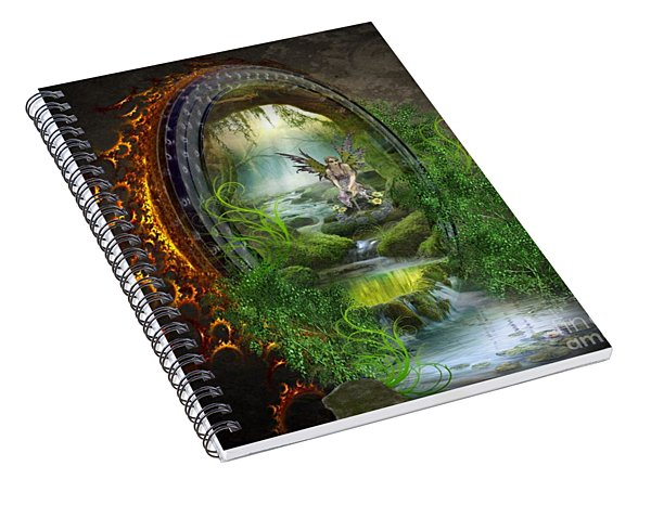 Gate To Another World Spiral Notebook