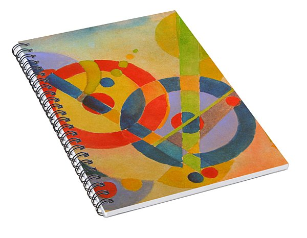 Geometry Spiral Notebook