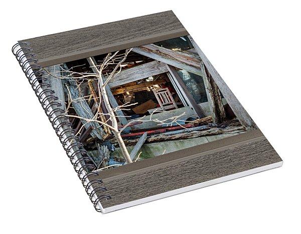 Ghost Chair Spiral Notebook