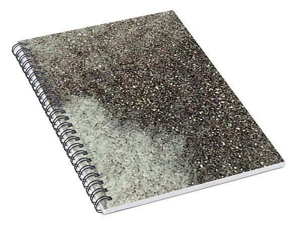 Ghost Leaf Spiral Notebook