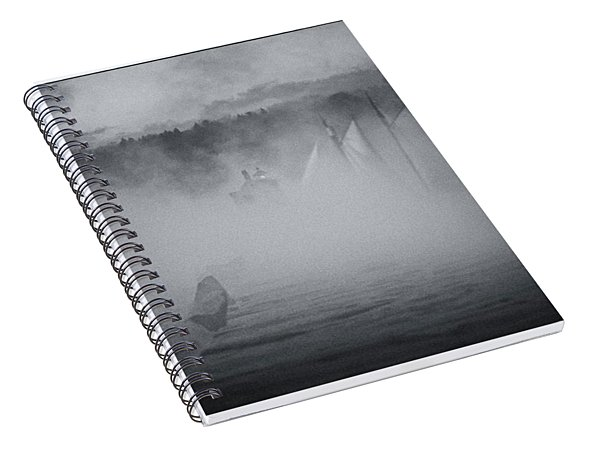 Ghost Ship 1 Spiral Notebook