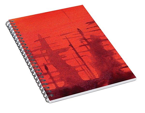 Ghost Ships Spiral Notebook