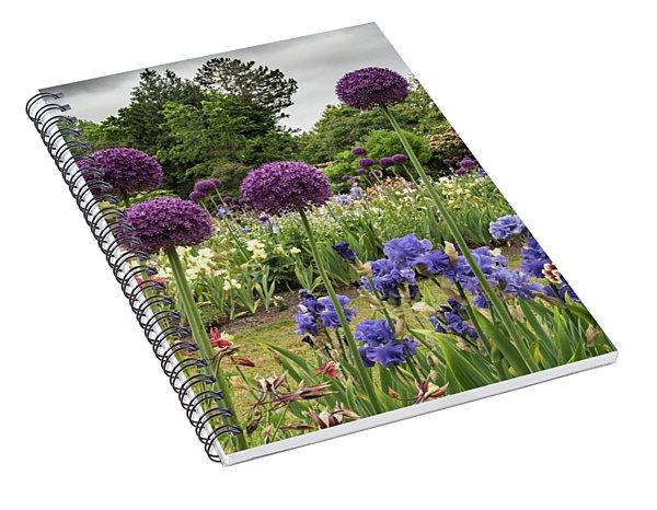 Giant Allium Guards Spiral Notebook
