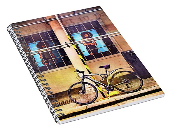 Giant Passion Bicycle Spiral Notebook