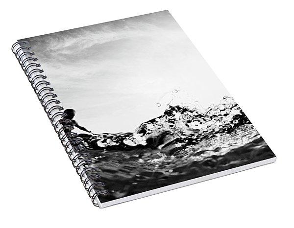 Glass House Spiral Notebook