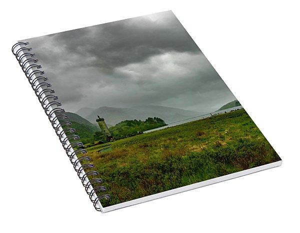 Glencoe, Scotland Spiral Notebook