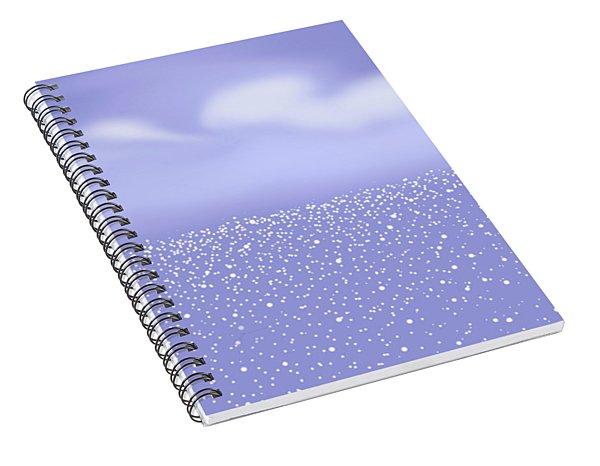 Glittering Sea Spiral Notebook