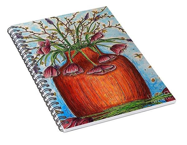 Glorious Springtime Spiral Notebook