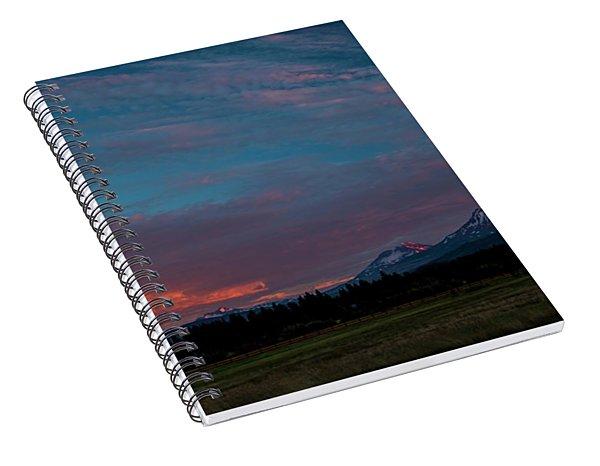Glorious Sunset Spiral Notebook
