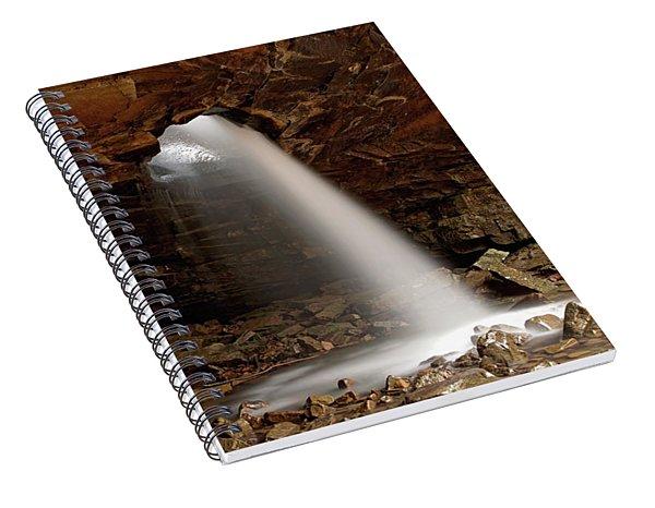 Glory Hole Spiral Notebook