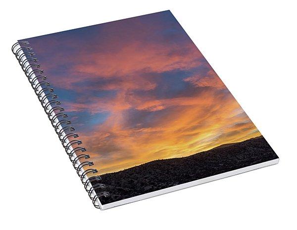 Glowscape Spiral Notebook