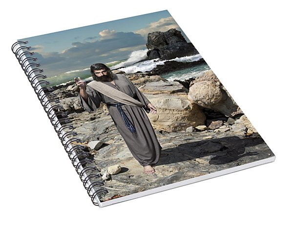 Go Your Faith Has Healed You Spiral Notebook