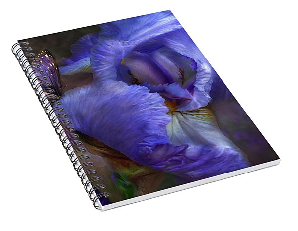 Goddess Of Mystery Spiral Notebook