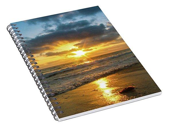 Golden Hour At Grandview Spiral Notebook