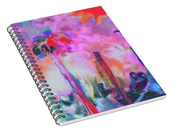 Gone Fishing Spiral Notebook
