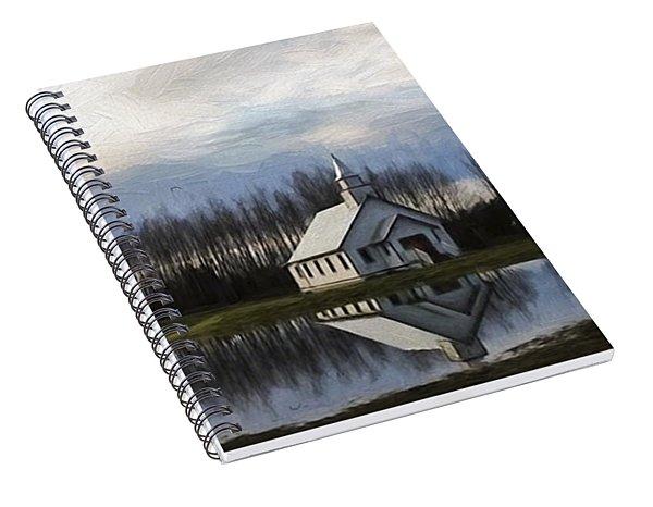 Good Morning - Hope Valley Art Spiral Notebook